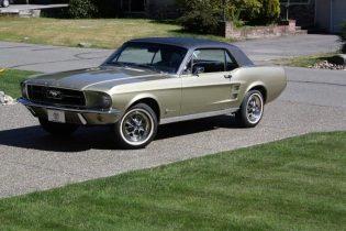 Laura Ballance 1967 Mustang T5