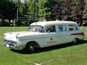Steve Williams 1957 Chevrolet Ambulance