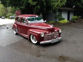 Joe Morris 1946 Ford Sedan
