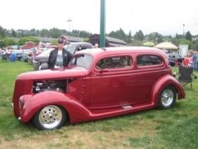Walt Wagner 1936 Ford Tudor