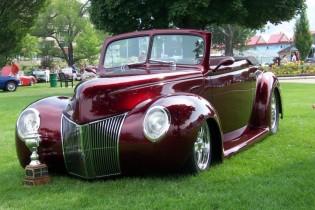 Jim Lyons 1940 Ford Convertible