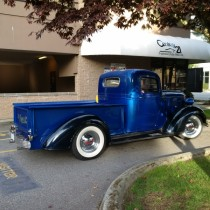 Bill Blackall 1938 Chevy Pick Up