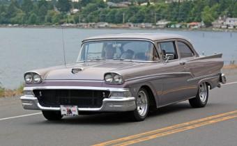 Frank Leigh 1958 Ford Custom 300